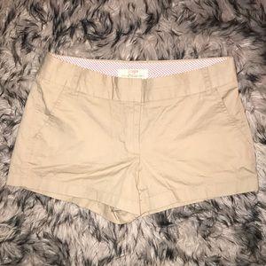 NWOT J Crew Chino Shorts